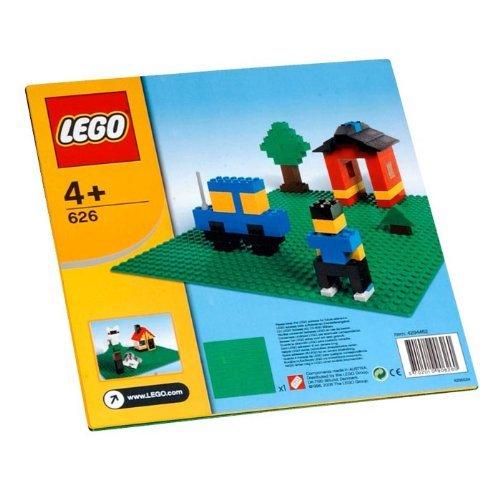 レゴ 基本セット 基礎板 (緑色) 626
