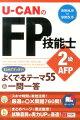 '14〜'15年版U-CANのFP技能士2級・AFP まとめてすっきり!よくでるテーマ55&一問一答