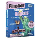 Pimsleur English for French Speakers Quick & Simple Course - Level 1 Lessons 1-8 CD: Learn to Speak [ Pimsleur ]