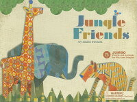 JungleFriends:5JumboPunch-OutAnimalsforPlayandDisplay