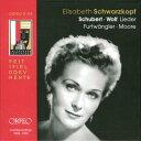 【輸入盤】シュヴァルツコップ シューベルト、ヴォルフ:歌曲の夕べ1953-63(3CD) [ Soprano Collection ]