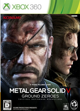 METAL GEAR SOLID 5 GROUND ZEROES Xbox360��