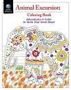 Animal Excursions Coloring Book: Reg