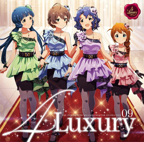 THE IDOLM@STER MILLION THE@TER GENERATION 09 4Luxury [ 4Luxury ]