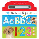 Write and Wipe ABC 123 WRITE & WIPE ABC 123 (Scholastic Early Learners)