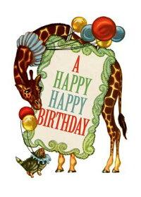 CircusGiraffe-BirthdayGreetingCard(6CardsIndividuallyBaggedW/Envelopes&Header)[PatriciaValleau]