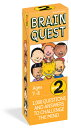 Brain Quest Grade 2: 1,000 Questions and Answers to Challenge the Mind BRAIN QUEST GRADE 2 REV/E 4/E (Brain Quest Decks) Chris Welles Feder