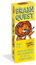Brain Quest Kindergarten, Revised 4th Edition: 300 Questions and Answers to Get a Smart Start FLSH CARD-BRAIN QUEST KINDERGA (Brain Quest Decks) Chris Welles Feder