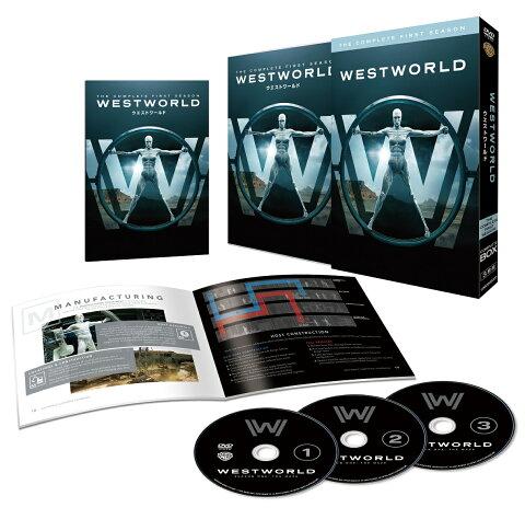 ウエストワールド<ファースト・シーズン>DVD コンプリート・ボックス(3枚組/ウエストワールド運営マニュアル付)(初回限定生産) [ エヴァン・レイチェル・ウッド ]