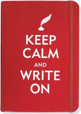 Keep Calm & Write on Journal (Diary, Notebook)