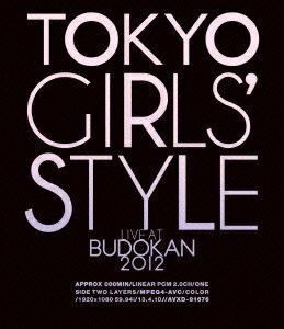 TOKYO GIRLS' STYLE 『LIVE AT BUDOKAN 2012』【Blu-ray】 [ 東京女子流 ]