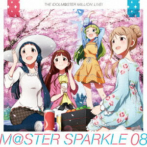 THE IDOLM@STER MILLION LIVE! M@STER SPARKLE 08 [ (ゲーム・ミュージック) ]