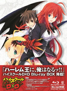 ハイスクールD×D Blu-ray BOX【Blu-ray】 [ 梶裕貴 ]...:book:17128134