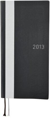 ほぼ日手帳 2013 WEEKS(ホワイトライン・ブラック)