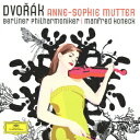 ドヴォルザーク:ヴァイオリン協奏曲/ロマンス/マズレック/ユーモレスク [ アンネ=ゾフィー・ムター