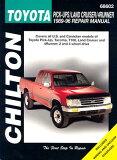 【】Toyota Pick-Ups, Land Cruiser, and 4 Runner, 1989-96 [ Chilton Automotive Books ]