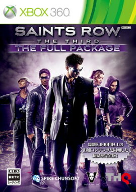 Saints Row The Third: The Full Package Xbox360��
