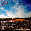 其它 - 【輸入盤】交響曲第4番『イタリア』(改訂版)、第1番(1829年版第3楽章を含む) ジョン・エリオット・ガーディナー&ロンドン交響楽団(+ブルーレイ・オ [ メンデルスゾーン(1809-1847) ]
