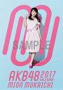 (壁掛)AKB48 向井地美音 B2カレンダー 2017【楽天ブックス限定特典付】 [ 向井地美音 ]