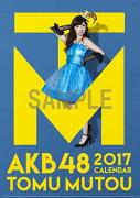 (壁掛)AKB48 武藤十夢 B2カレンダー 2017【楽天ブックス限定特典付】