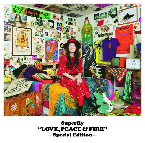 LOVE PEACE & FIRE -Special Edition- [ Superfly ]