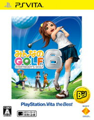 �ߤ�ʤ�GOLF 6 PlayStation Vita the Best