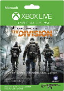 Xbox Live 3 �������� ���С����åס�The Division�٥С������