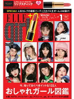 ELLE girl(エル・ガール)2017年1月号 × REVLON リップスティック 特別セット