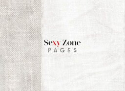 PAGES (初回限定盤B CD+DVD) [ Sexy Zone ]