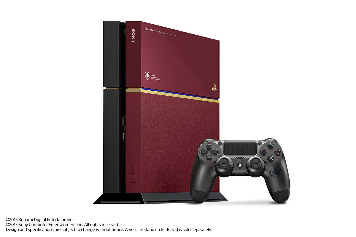 PlayStation4METALGEARSOLIDVLIMITEDPACKTHEPHANTOMPAINEDITION