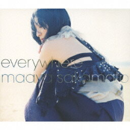 everywhere(初回限定CD+DVD) [ <strong>坂本真</strong>綾 ]