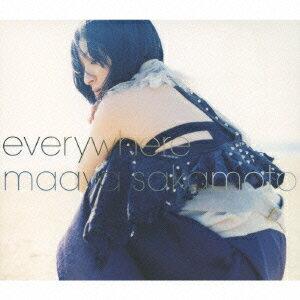 everywhere(初回限定CD+DVD) [ 坂本真綾 ]