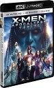 X-MEN:アポカリプス(4K ULTRA HD+3D+2Dブルーレイ/3枚組)【4K ULTRA HD】 [ ジェームズ・マカヴォイ ]