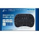 CYBER ・ ワイヤレスミニキーボード ( PS4 用) ブラック