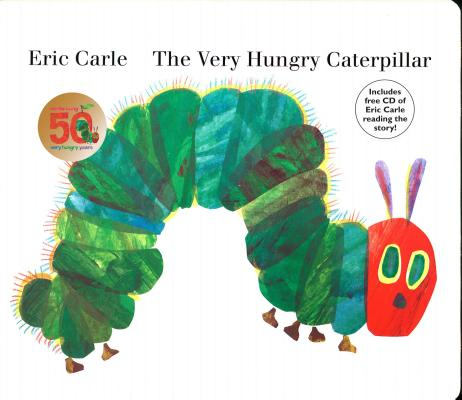 VERY HUNGRY CATERPILLAR(BB W/CD) [ ERIC CARLE ]