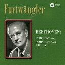 ベートーヴェン:交響曲第1番&第3番「英雄」 [ ヴィルヘルム・フルトヴェングラー ]
