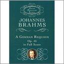 ブラームス, Johannes: ドイツ・レクイエム Op.45: 小型スコア
