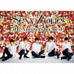 Sexy Zone 5th Anniversary Best (初回限定盤A 2CD+DVD) [ Sexy Zone ]
