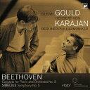 コンサート・イン・ベルリン1957/ベートーヴェン:ピアノ協奏曲第3番 シベリウス:交響曲第5番 [ グールド/カラヤン/ベルリン・フィル ]