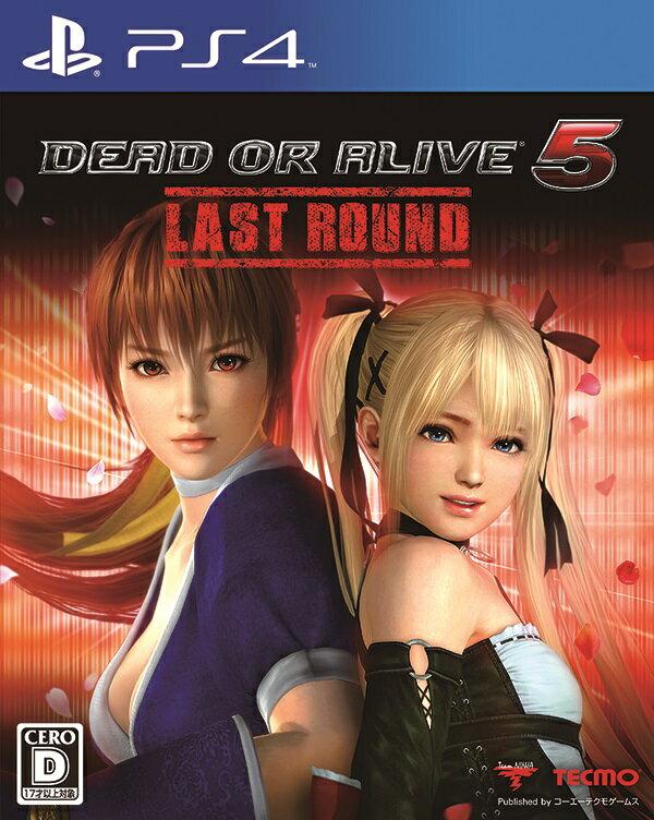 【予約】DEAD OR ALIVE 5 Last Round 通常版 PS4版