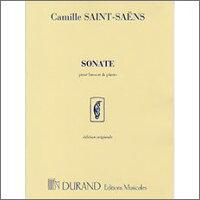 【輸入楽譜】サン・サーンス, Camille: バスーン・ソナタ Op.168