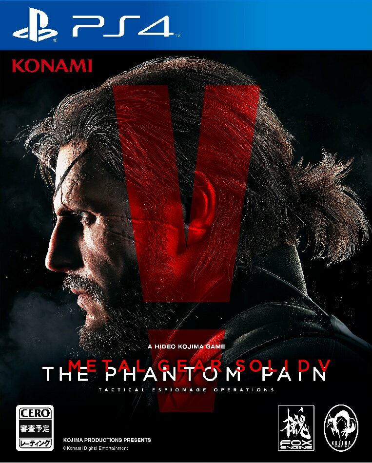 【予約】METAL GEAR SOLID V: THE PHANTOM PAIN PS4 通常版