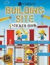Building Site Sticker Book STICKER BK-BUILDING SITE STICK (Scribblers Fun Activity)