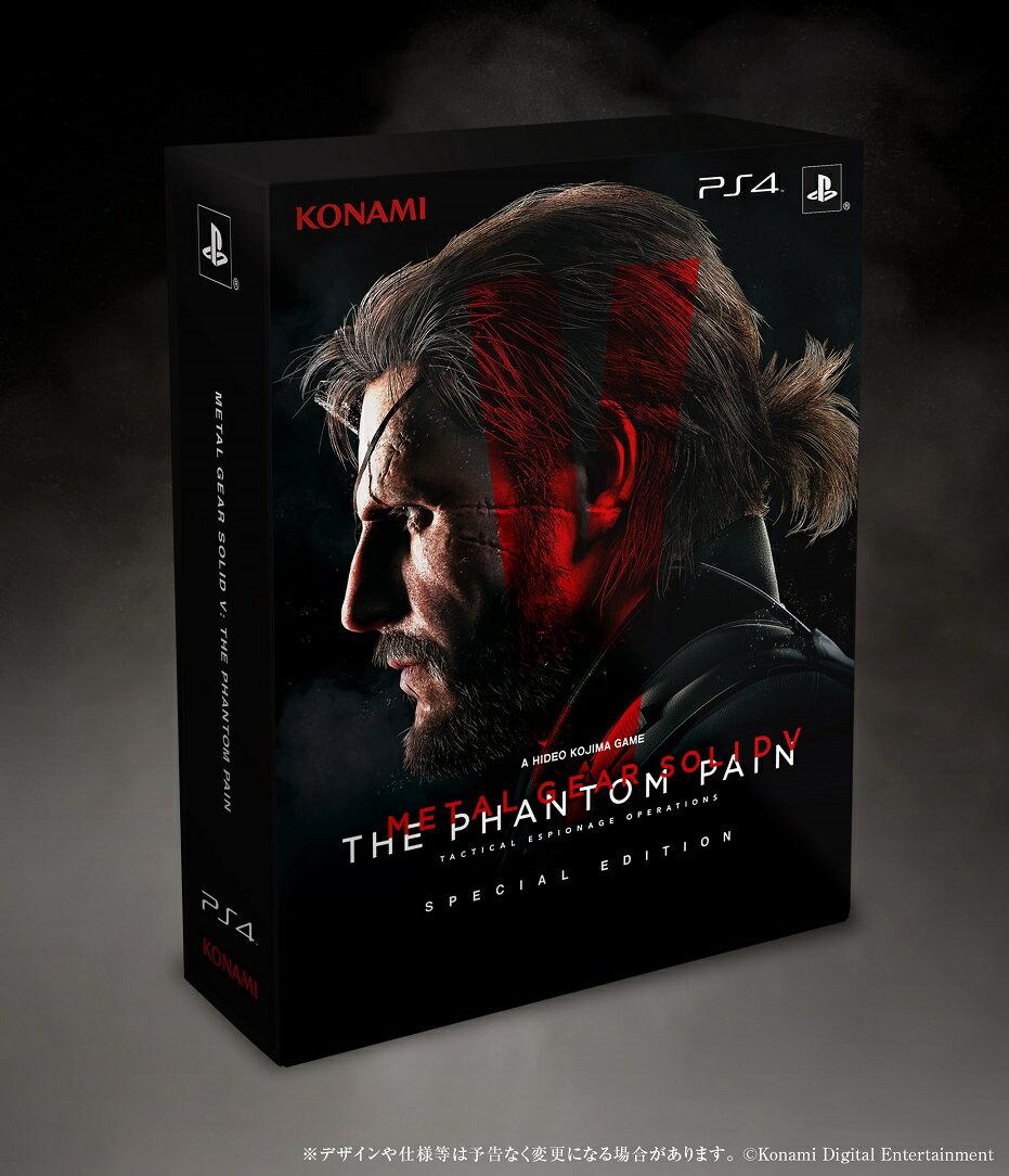 【予約】METAL GEAR SOLID V: THE PHANTOM PAIN PS4 SPECIAL EDITION