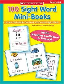 100 100 Mini Sight  That In  Fill Instant Mini  Teach sight Books: book and mini Word Books word