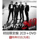 【先着特典】ぶっちぎり249 (初回限定盤 2CD+DVD)(復刻4点セット!(デビュー当時のフライヤー&ポストカード3種)) 横浜銀蝿40th
