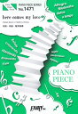here comes my love PIANO SOLO・PIANO&VOCAL (PIANO PIECE SERIES) [ 桜井和寿 ]