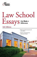 School Essays That Made a Difference, 4th Edition LAW SCHOOL ESSAYS ...