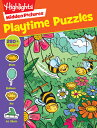 Playtime Puzzles STICKER BK-HIDDEN PICTURES PLA (Highlights Hidden Pictures)