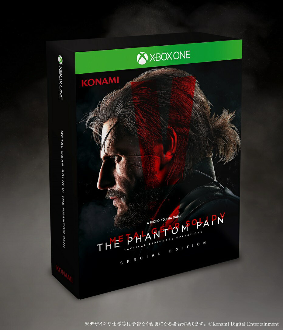 【予約】METAL GEAR SOLID V: THE PHANTOM PAIN Xbox One SPECIAL EDITION